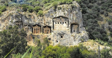Historical places in Dalyan