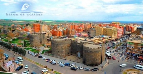 Castle of Diyarbakir Turkey